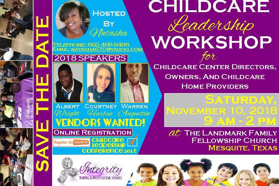 2018 Childcare Professionals Conference-Mesquite