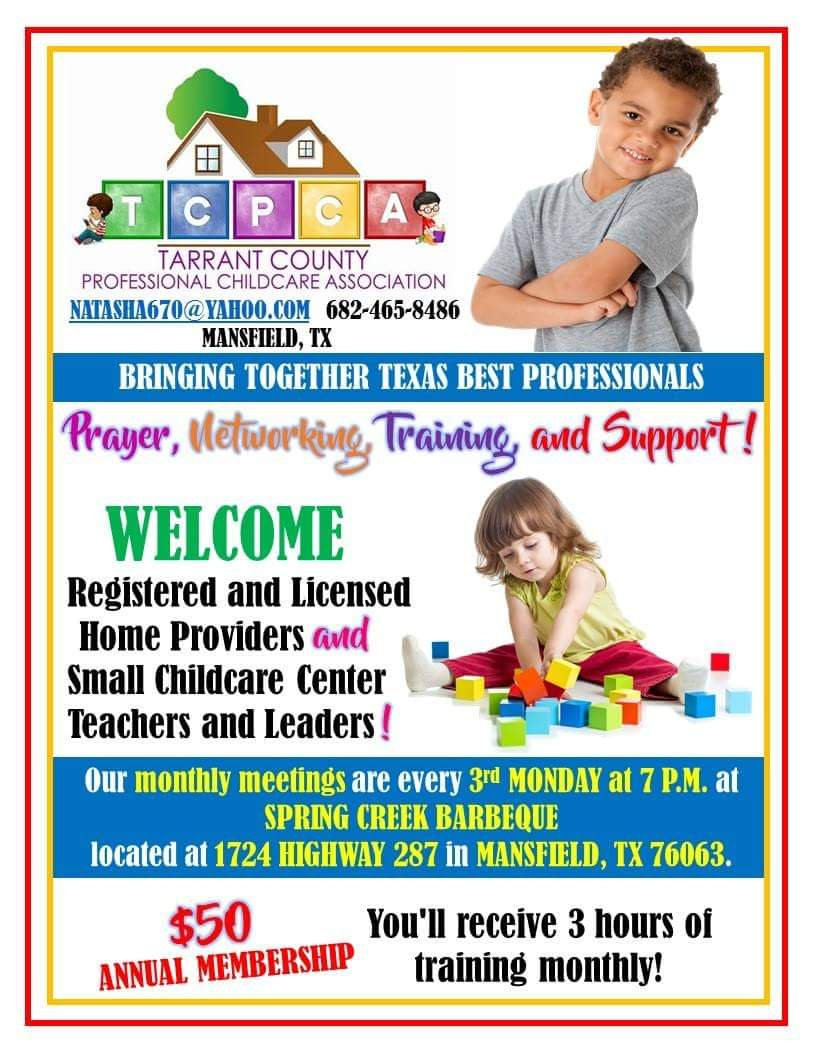 Tarrant County Professional Childcare Association