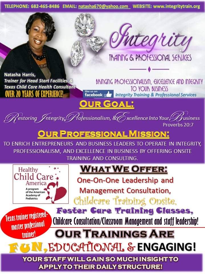 Childcare Director Credential Training and Training &Consulting Services