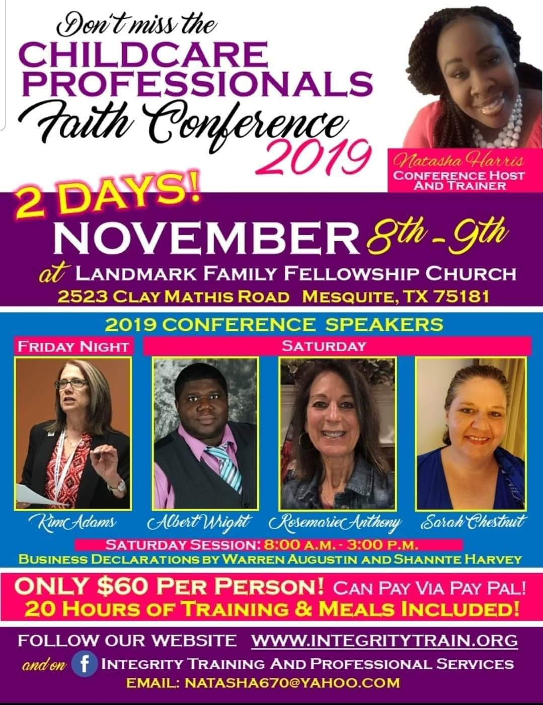 2019 Childcare Professionals Faith Conference