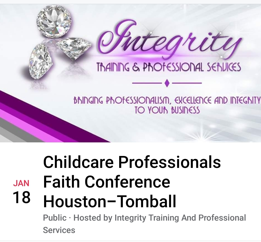 2020 Childcare Professionals Faith Conference Tomball